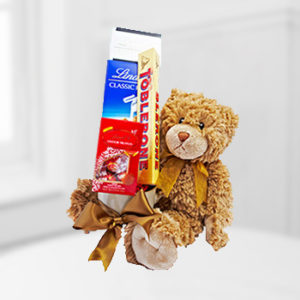 Toblerone Chocolate Teddy Bear Love